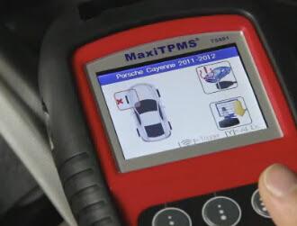 Autel-TS601 test-TMPS-for-Porsche-Cayenne-2010 (13)