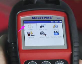 Autel-TS601 test-TMPS-for-Porsche-Cayenne-2010 (3)