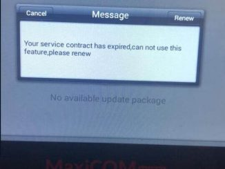 MK808 service contract has expired
